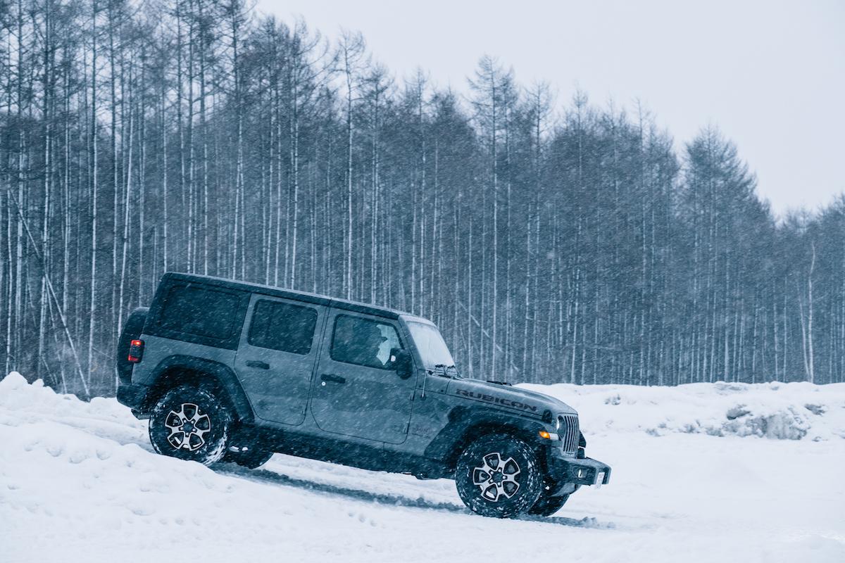 190215_jeep_wrangleronthesnow_11 雪道、凍結面で4WDの威力を発揮!ALL-NEW Jeep®︎ Wrangler雪上試乗会レポート!