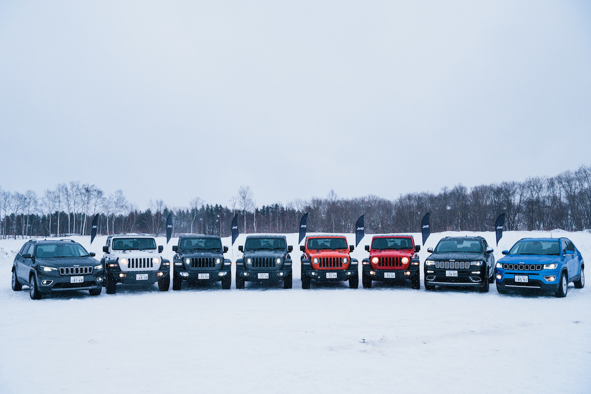 190215_jeep_wrangleronthesnow_22 雪道、凍結面で4WDの威力を発揮!ALL-NEW Jeep®︎ Wrangler雪上試乗会レポート!