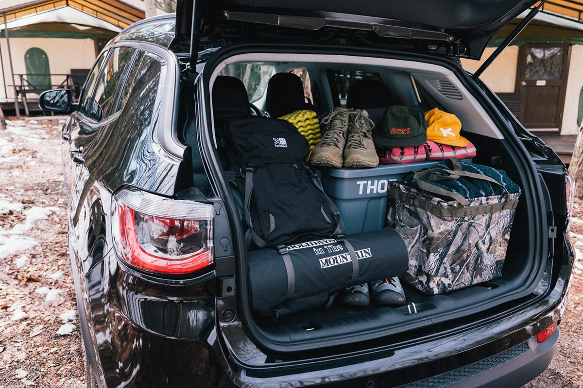 20200317_qetic-jeep-0152 【Jeepモデル別・積載企画】Jeep Compassに合うギア&積み方のポイントを人気スタイリスト・平健一がレクチャー!