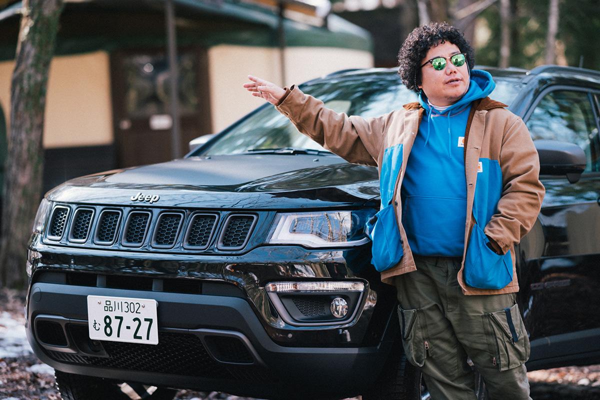 20200317_qetic-jeep-0278 【Jeepモデル別・積載企画】Jeep Compassに合うギア&積み方のポイントを人気スタイリスト・平健一がレクチャー!