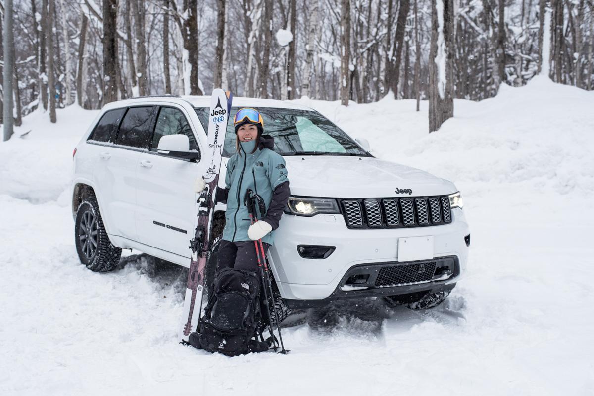 re190300_jeep_ownersinterview_ayana-onozuka-4 私のライフスタイルにJeep® は欠かせない。プロスキーヤー・小野塚彩那さんの新たな挑戦