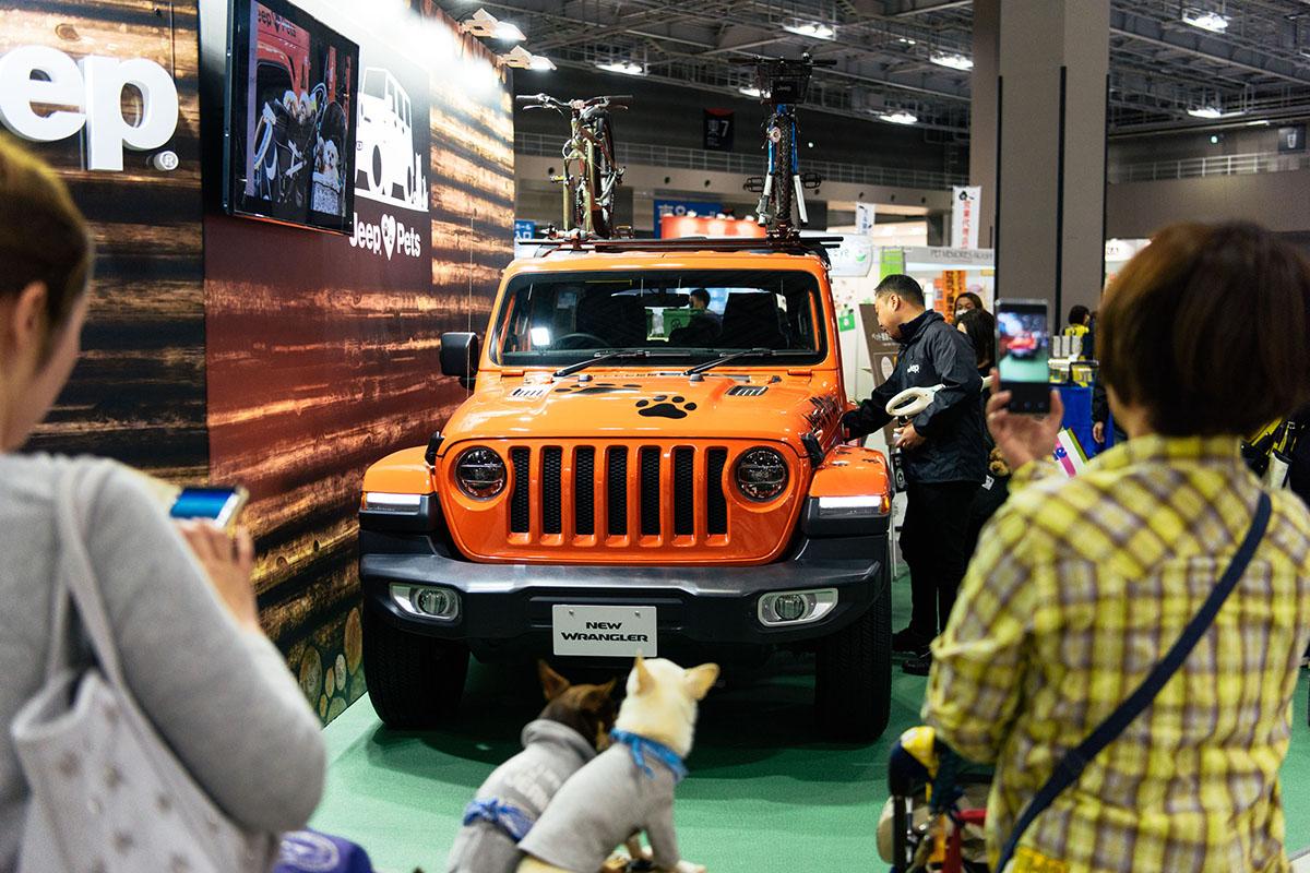 """190411_jeep_interpets_report_2019-12 【インターペット2019レポート】Jeep® が目指す""""ペットと共生するライフスタイル"""""""