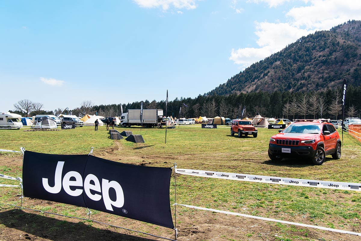 190426_jeep_go-out-jamboree-2019-11 【GO OUT JAMBOREE 2019 レポート】Jeep® オフロードコース体験!おしゃれテント&ファッションスナップも!