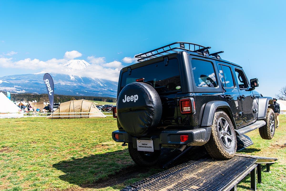 190426_jeep_go-out-jamboree-2019-17 【GO OUT JAMBOREE 2019 レポート】Jeep® オフロードコース体験!おしゃれテント&ファッションスナップも!