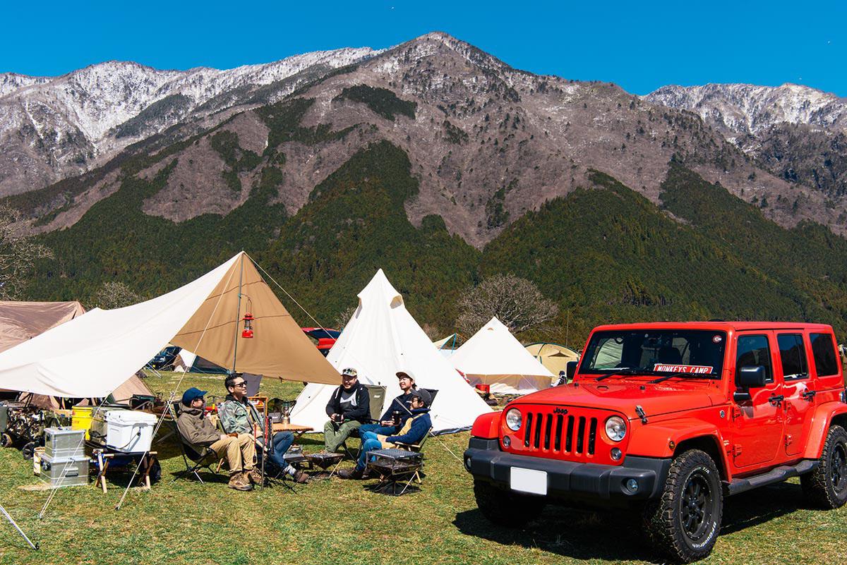 190426_jeep_go-out-jamboree-2019-24 【GO OUT JAMBOREE 2019 レポート】Jeep® オフロードコース体験!おしゃれテント&ファッションスナップも!