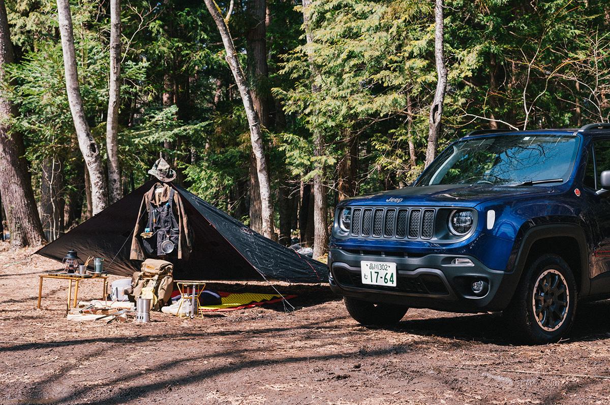20200317_qetic-jeep-0081 【Jeepモデル別・積載企画】Jeep Renegadeに合うギア&積み方のポイントを人気スタイリスト・平健一がレクチャー!