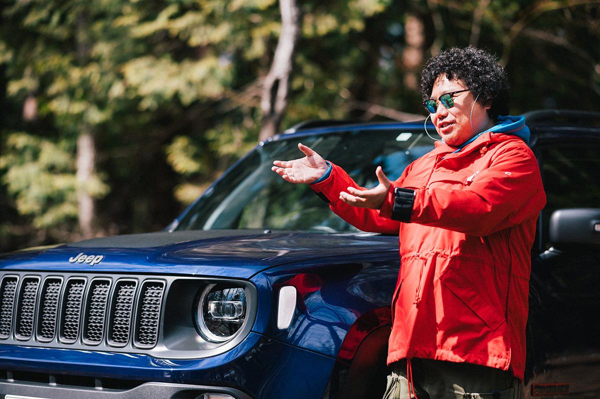 20200317_qetic-jeep-0101 【Jeepモデル別・積載企画】Jeep Renegadeに合うギア&積み方のポイントを人気スタイリスト・平健一がレクチャー!