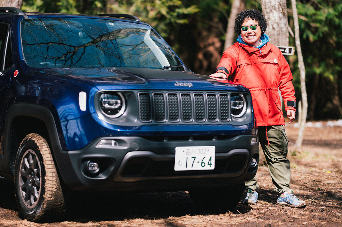 20200317_qetic-jeep-0129 【Jeepモデル別・積載企画】Jeep Renegadeに合うギア&積み方のポイントを人気スタイリスト・平健一がレクチャー!