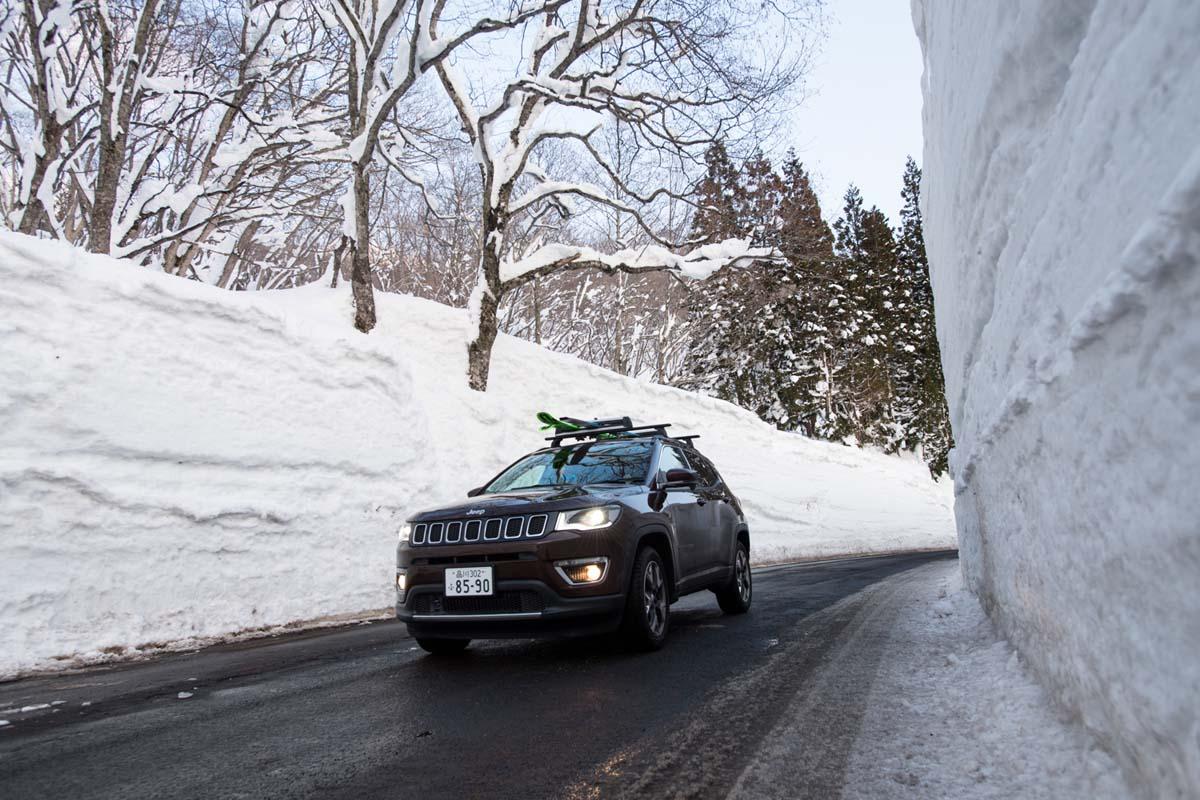 TAK1802_1244 Jeep®︎ UNMAP YOUR LIFE 〜山形県、月山バックカントリー&雪上車ツアー編〜 自分を解放する、こだわりの時間