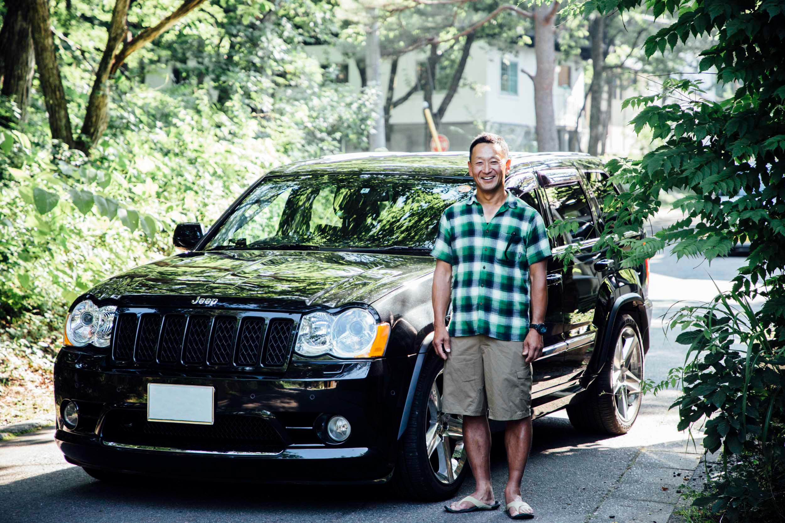 MG_5017-1 長野県白馬村、Grand Cherokeeオーナーへインタビュー。避暑地としてもアクティブに過ごすにも良し!カフェ観光スポットもご紹介