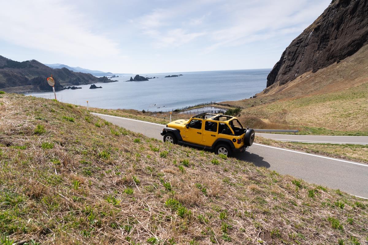 "e24637b384fe34f87479130b29e66236 Real Tabi with Jeep〜Jeepと行く、日本の""こころ""を探る旅〜〈新潟県・佐渡〉"