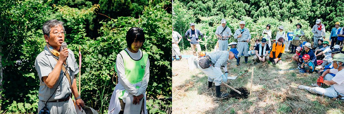 tree02 『Jeep® Grand Cherokee』で鳴子温泉郷へ。植樹活動<Present Tree in みやぎ大崎>レポート!