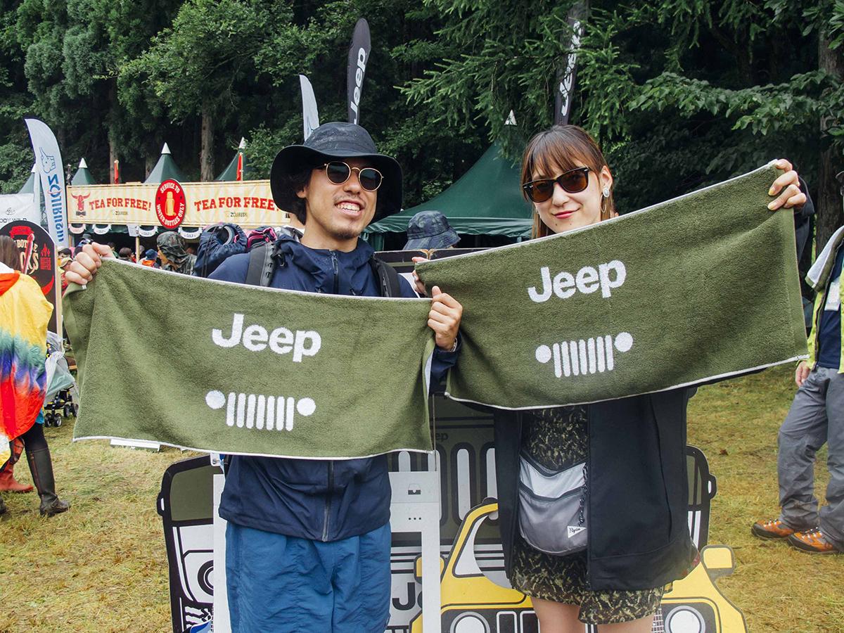 """IMG_1383 Jeep®が今年も""""特別な体験""""をサポート!!<FUJI ROCK FESTIVAL'17>速報レポート。"""