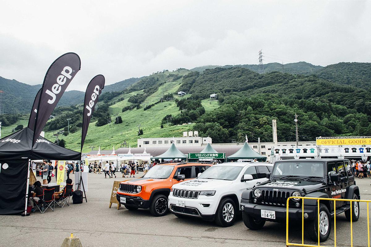 """MG_7511 Jeep®が今年も""""特別な体験""""をサポート!!<FUJI ROCK FESTIVAL'17>速報レポート。"""