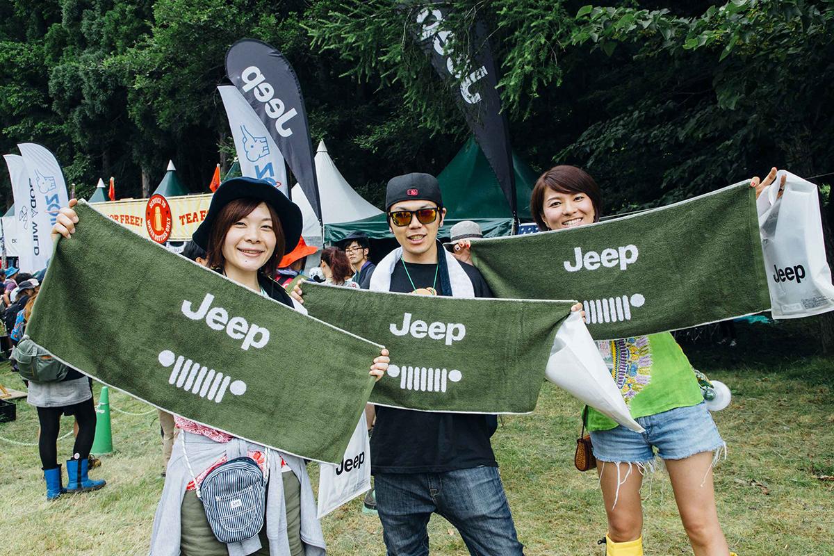"""MG_7631 Jeep®が今年も""""特別な体験""""をサポート!!<FUJI ROCK FESTIVAL'17>速報レポート。"""