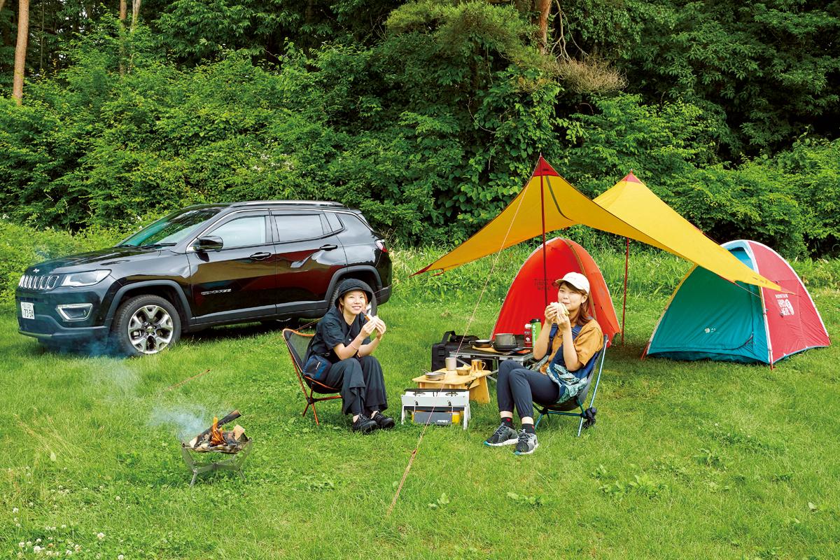 realstyle20200803_02_01 Jeepで楽しむふたつのキャンプスタイル