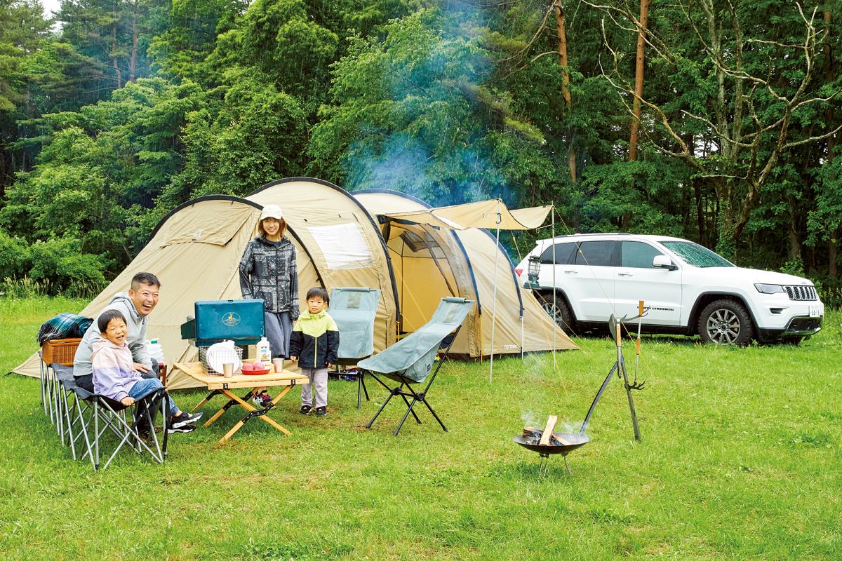 realstyle20200803_02_07 Jeepで楽しむふたつのキャンプスタイル