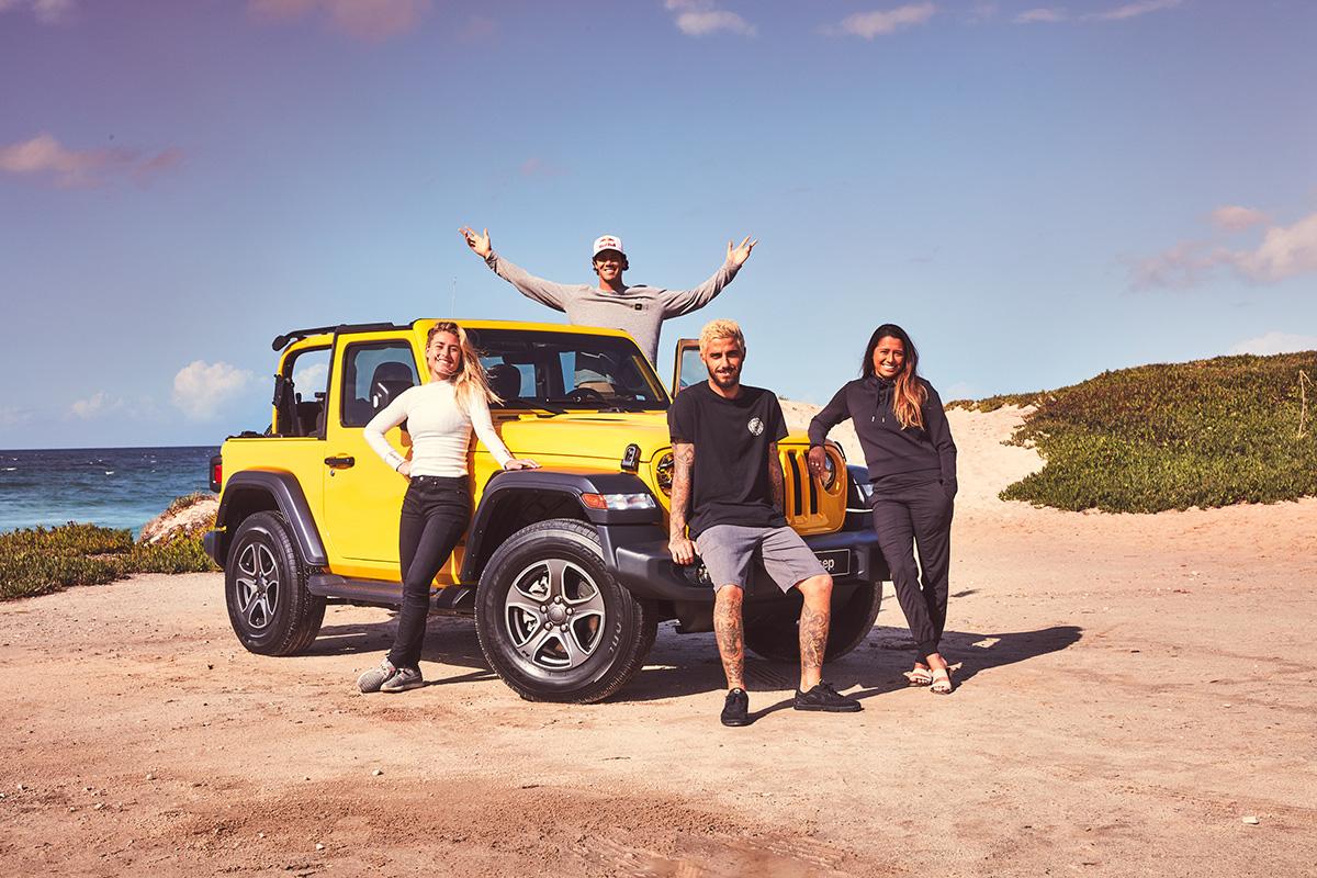 """SHOT_020_066 【Jeep×WSL連載企画・第5弾】サーフィン界の世界最高峰ツアー・CTで、王者のみが袖を通す""""イエロージャージ""""の誇り"""