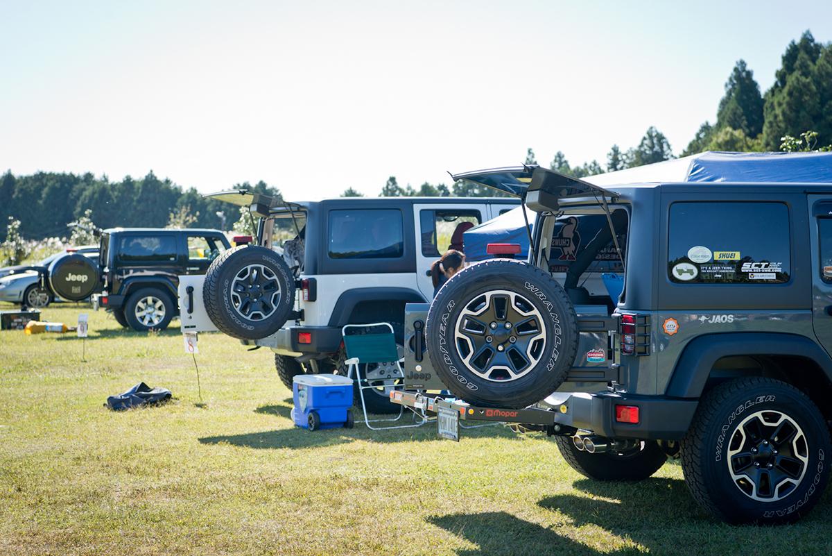 20161015_jeep-0049 Jeep®オーナーの祭典<Jeep® Festival 2016>が開催! オフロード試乗体験や焚火料理など、アウトドアを本気で楽しむキャンプイベントを徹底レポート!