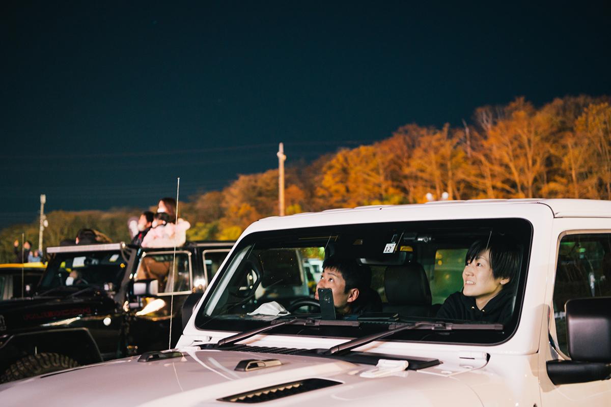 20201031_qetic-jeep-0065 Jeep HANABI 2020【関東・関西・東海】レポート!オーナーとの絆を乗せて夜空に打ち上がった7スロット花火