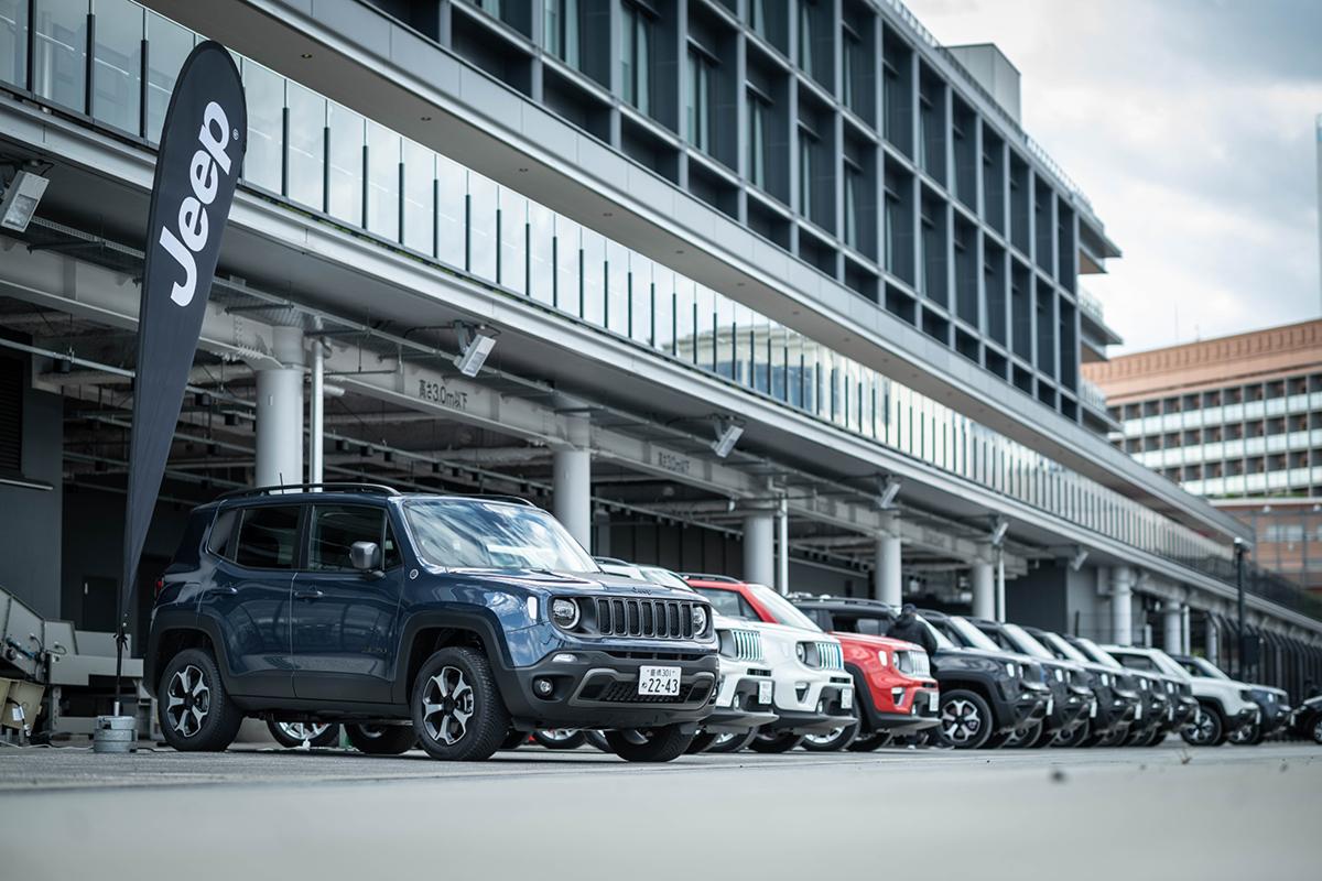 DSC8391 Jeep初のPHEV、Renegade 4xe日本上陸!~電動化でより鮮明になったJeepの意志と決意~