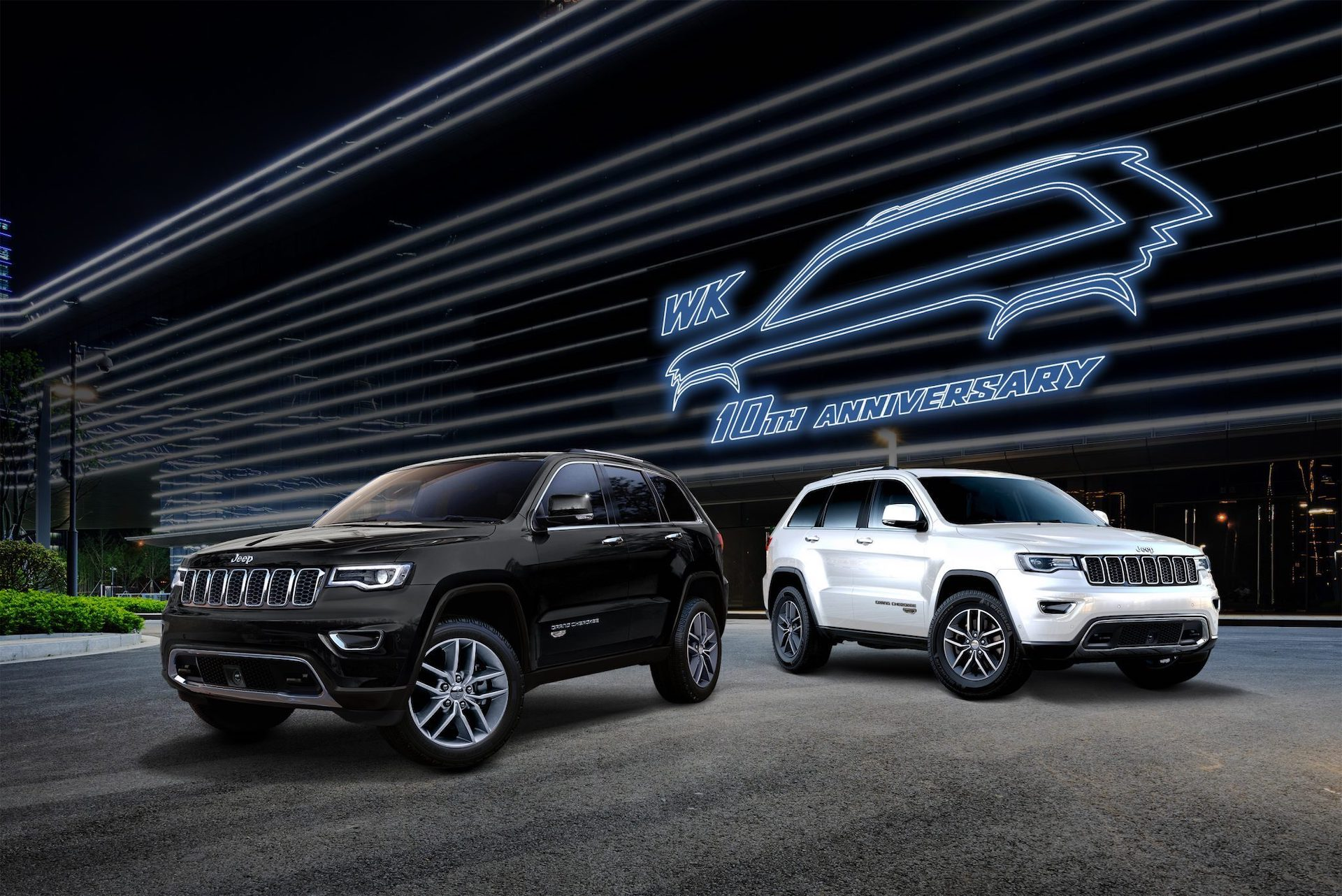 Jeep Grand Cherokee WK 10th Anniversary Edition