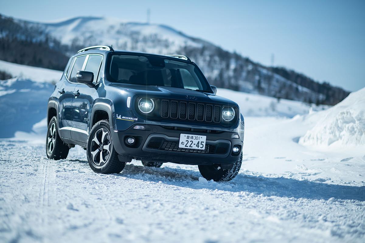 "DSC4529-1 【Jeep×星野リゾート】話題の""4xe""をはじめとする最新のJeepが雪上で実力を見せつけた、""トマム雪上試乗会""リポート"