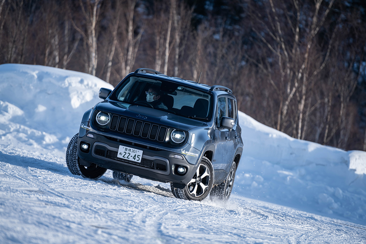 "DSC4799 【Jeep×星野リゾート】話題の""4xe""をはじめとする最新のJeepが雪上で実力を見せつけた、""トマム雪上試乗会""リポート"