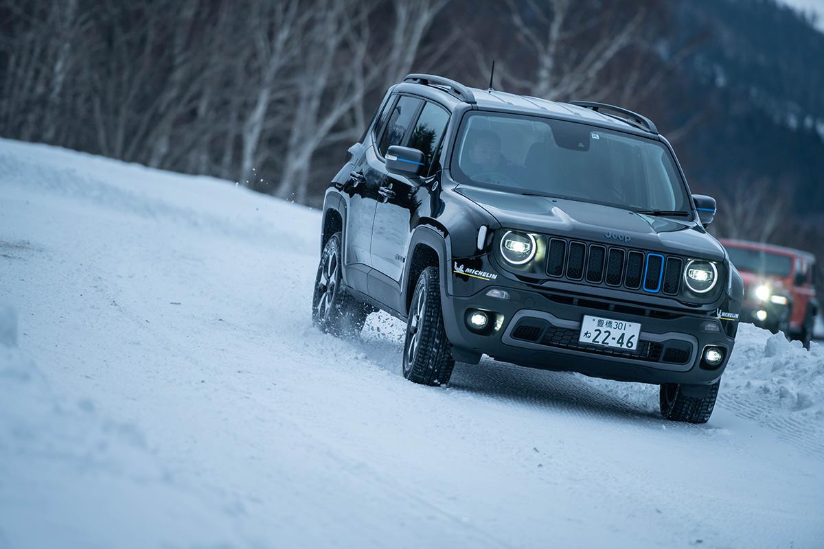 "DSC5258 【Jeep×星野リゾート】話題の""4xe""をはじめとする最新のJeepが雪上で実力を見せつけた、""トマム雪上試乗会""リポート"