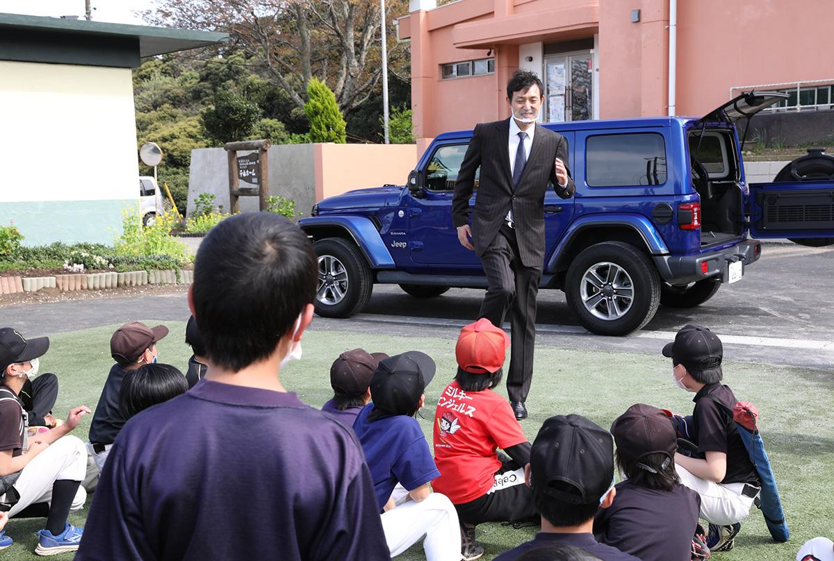 53c46a2a9fcfb9b18498f9c6c352a0ab 子どもたちに野球用具を贈りたい!Jeepが展開するクラウドファンディング『Share your heart』の活動に元メジャーリーガー・岩隈久志さんがエールを送る!