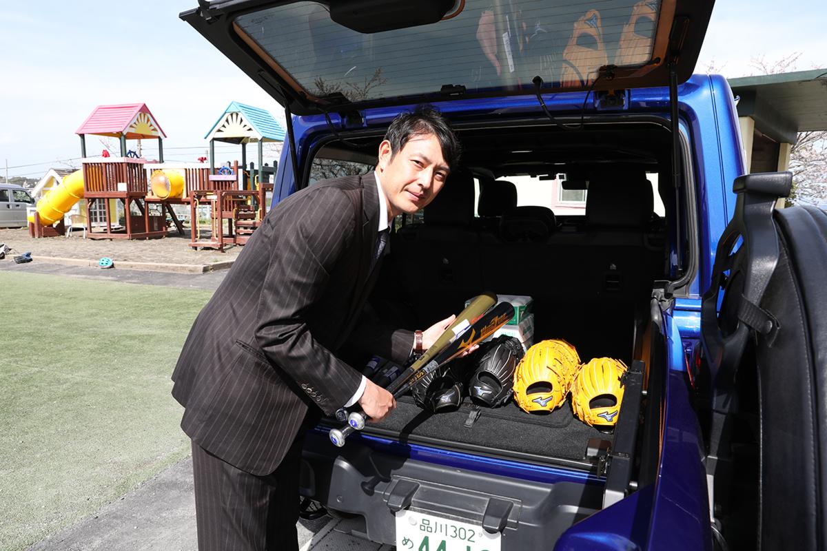 MicrosoftTeams-image-13 子どもたちに野球用具を贈りたい!Jeepが展開するクラウドファンディング『Share your heart』の活動に元メジャーリーガー・岩隈久志さんがエールを送る!