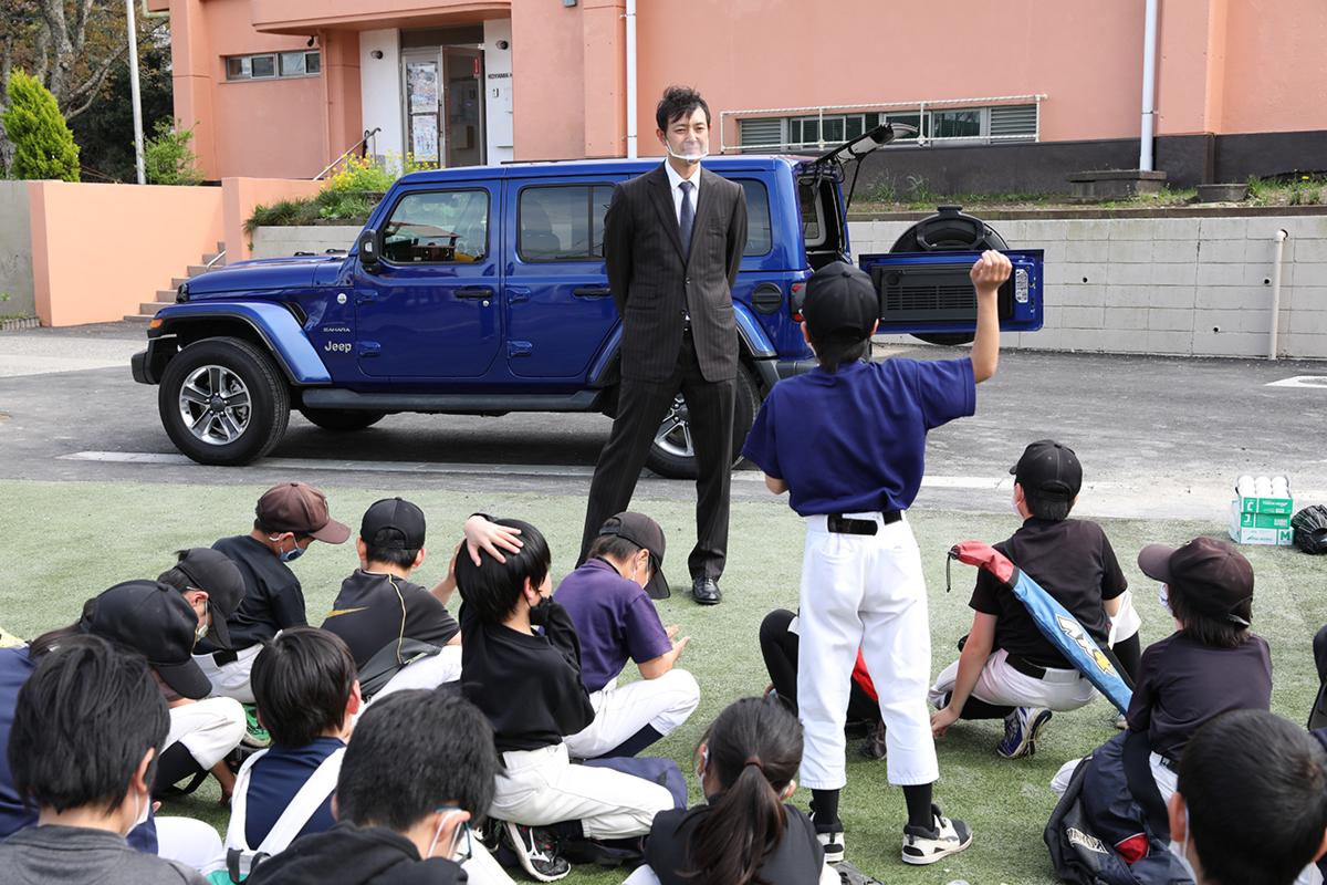 MicrosoftTeams-image-24 子どもたちに野球用具を贈りたい!Jeepが展開するクラウドファンディング『Share your heart』の活動に元メジャーリーガー・岩隈久志さんがエールを送る!
