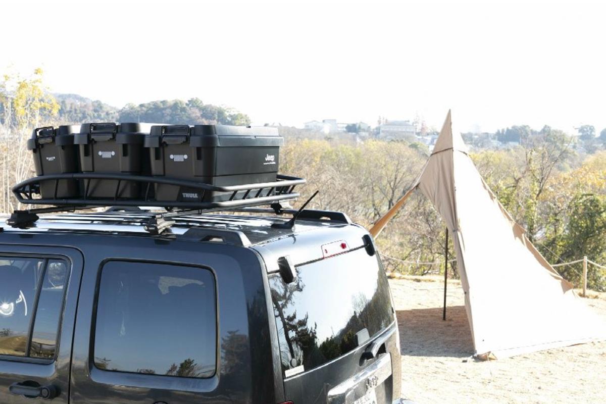 4 Jeep×HIMARAYAの「キャンプと車を遊び心でつなぐ」コラボ!
