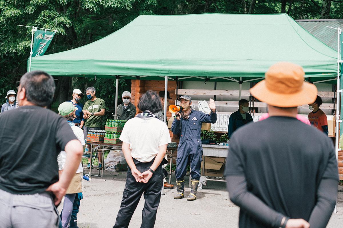 7 夏の苗場でボードウォーク・ボランティアキャンプを開催!Jeepが『Realの森』を通してサポートする『フジロックの森プロジェクト』