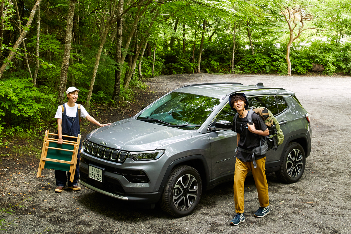 0_main-3 Jeep Compassで挑戦!ソロキャンプに必要なモノとワザ