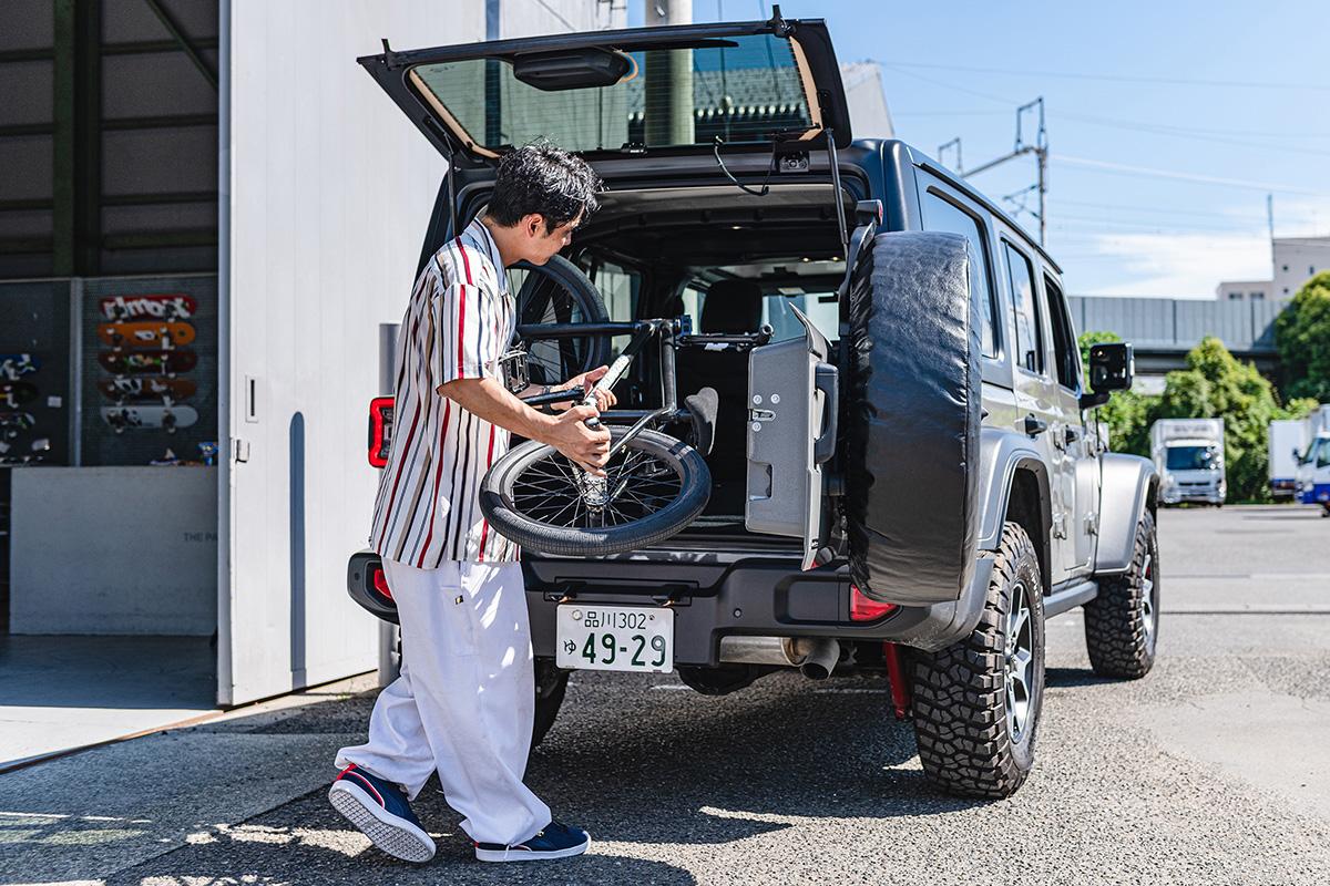 16 【Jeep Real Games】ストリートのカッコよさを証明し続けていく〜BMXフラットランドライダー・内野洋平氏〜