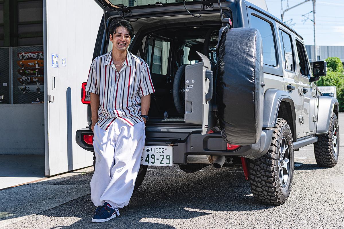 17 【Jeep Real Games】ストリートのカッコよさを証明し続けていく〜BMXフラットランドライダー・内野洋平氏〜
