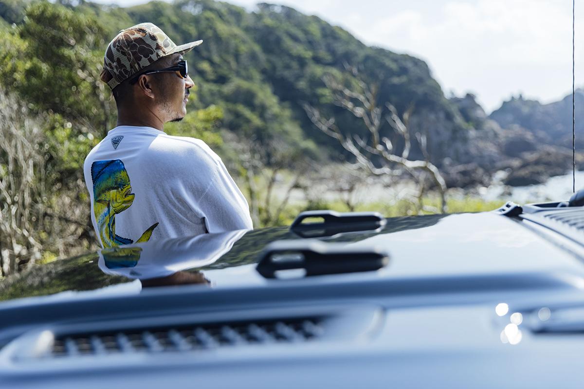 "12 【Jeepオーナーインタビュー】""本物の自由と冒険""を体現する、個性派プロアングラー・秦拓馬のフィッシングライフ"