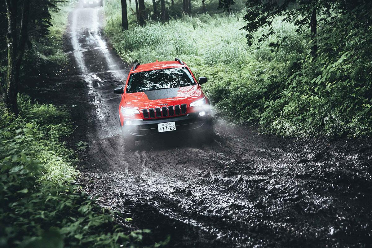 15-1 どんな悪路でも乗り越える、驚きの走破性を体験! Jeep®︎ ALL Trail-Ratedモデル試乗会レポート!