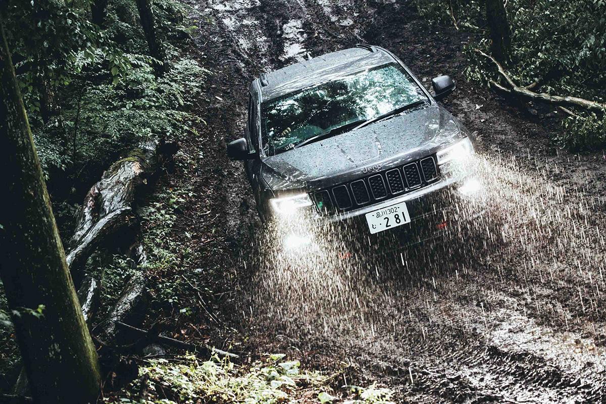 21-1 どんな悪路でも乗り越える、驚きの走破性を体験! Jeep®︎ ALL Trail-Ratedモデル試乗会レポート!