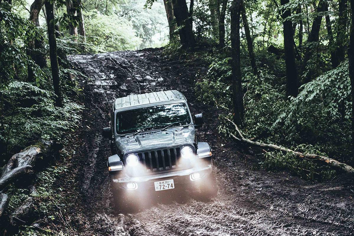 28-1 どんな悪路でも乗り越える、驚きの走破性を体験! Jeep®︎ ALL Trail-Ratedモデル試乗会レポート!