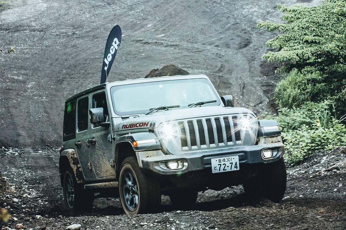 6-2 どんな悪路でも乗り越える、驚きの走破性を体験! Jeep®︎ ALL Trail-Ratedモデル試乗会レポート!