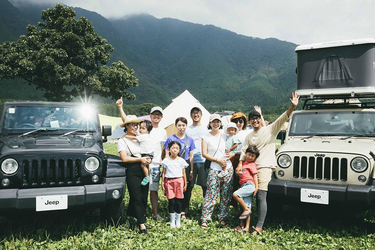 2-1 【Jeep® Festival 2019】オーナーさんこだわりのキャンプギアが満載!テントスナップ14選