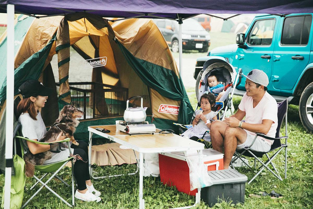 9-1 【Jeep® Festival 2019】オーナーさんこだわりのキャンプギアが満載!テントスナップ14選