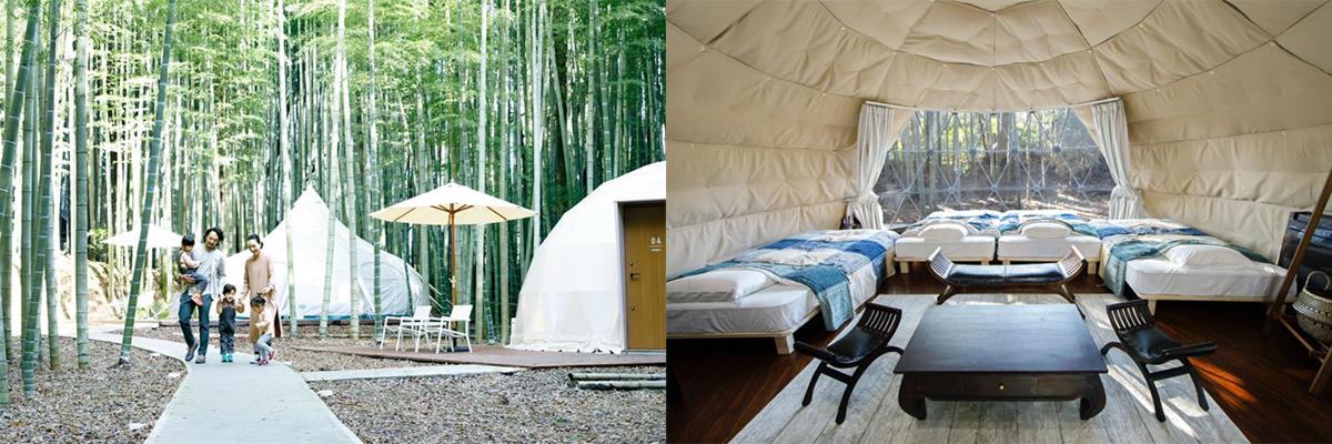 3-2 プライベート空間で楽しめる!感染症対策もバッチリな日本全国のキャンプ施設17選