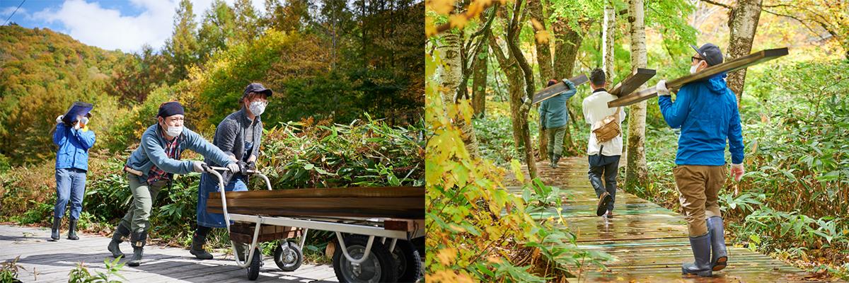 201024_QTC0212_0183 Jeepがサポートする『フジロックの森プロジェクト』。次の10年に向けて生まれ変わる苗場の風物詩