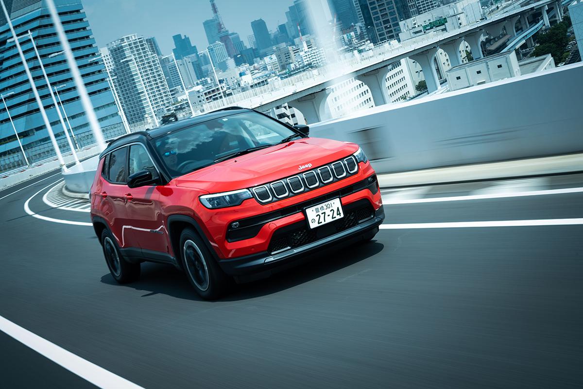 7 インテリアデザインを刷新した新型Jeep Compassに試乗! 〜モダンで居心地のいいインテリアに囲まれて、オールマイティに使える魅力がさらに増した〜