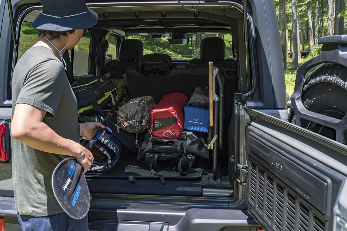 4 LAKE SUP & CAMP with Jeep Wrangler