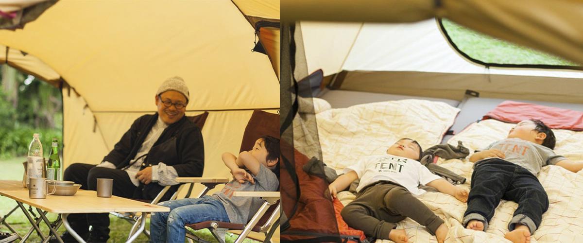 3-1 【2021年・テント特集】ファミリー、ソロ、カップル・友達まで!<br>キャンプにおすすめの最新&おしゃれテント15選